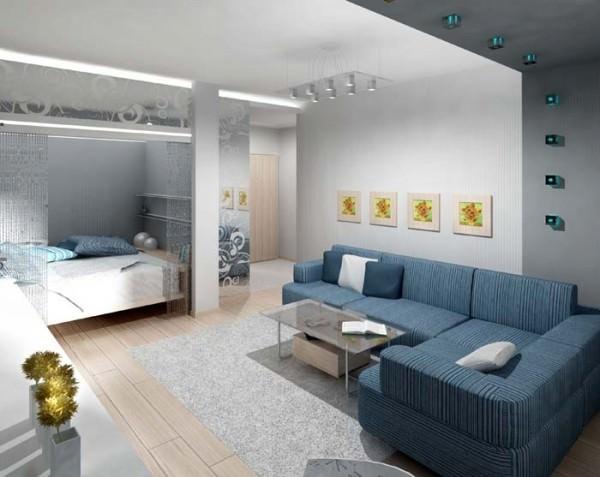 Дизайн маленьких однокомнатных квартир фото