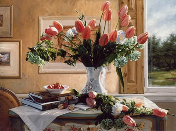 Украшаем интерьер квартир вазами