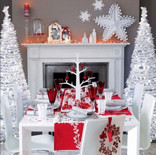 Вдохновляющие идеи яркого новогоднего интерьера (часть 2)