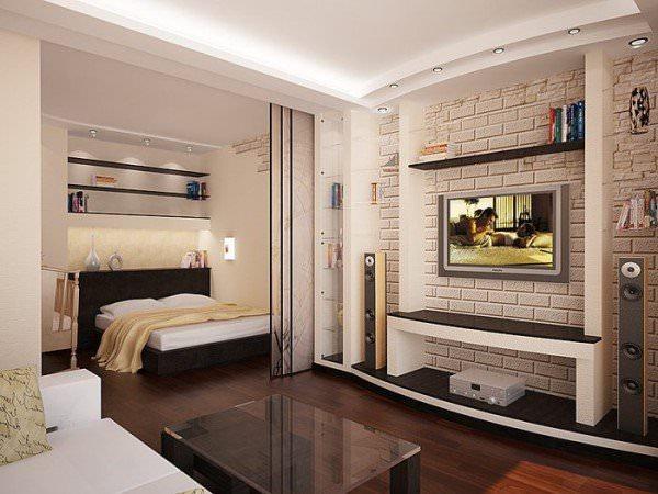 Идеи обустройства однокомнатной квартиры (часть 1)