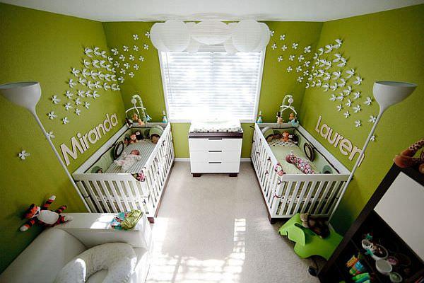 Идеи обустройства детской комнаты для двоих детей (Часть 1)