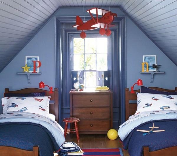 Идеи обустройства детской комнаты для двух детей (Часть 2)