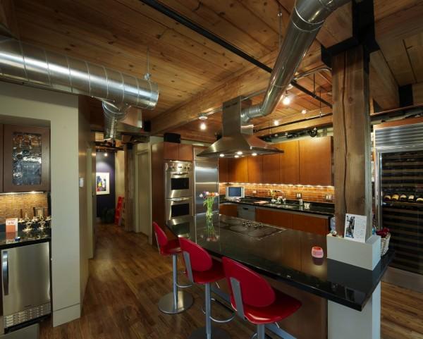 Оформляем кухню в стиле лофт