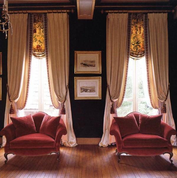 Вид и цвет штор – выбираем близкие по духу и наиболее подходящие интерьеру!