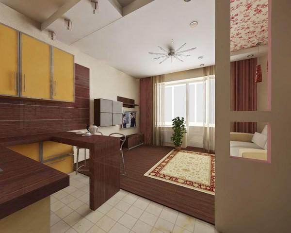 Дизайн маленькой квартиры-студии: создаем функциональное пространство