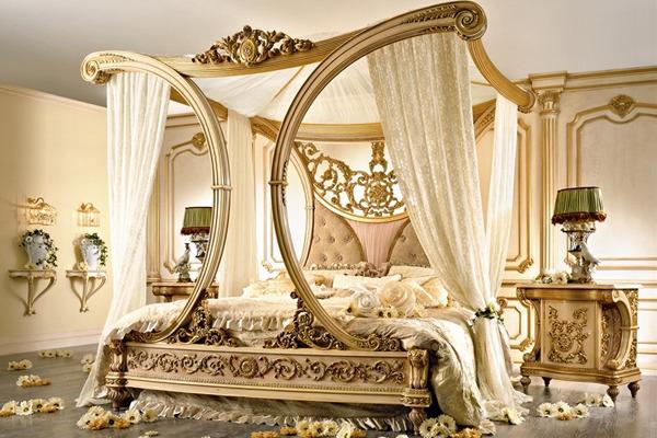 Итальянский стиль в спальне - средиземная классика