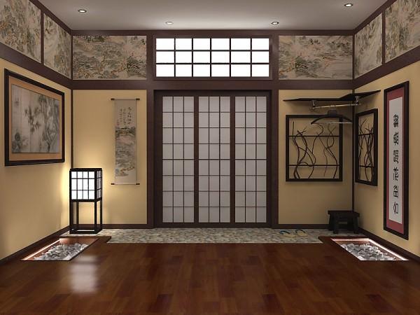 Этника в интерьере – японский стиль