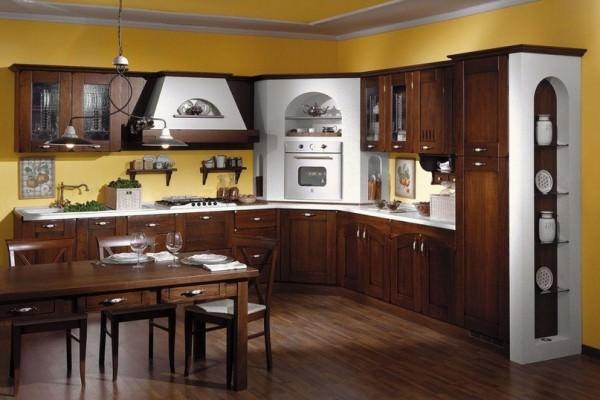Классический стиль интерьера для оформления кухни