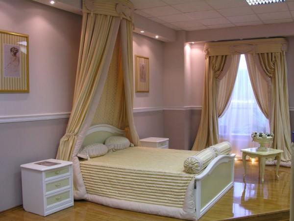 Спальня является островком комфорта в доме
