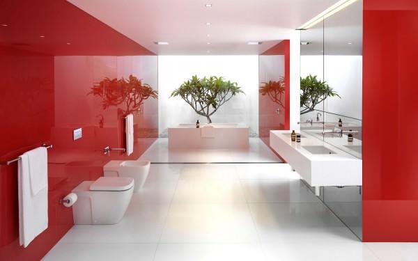 Интерьер ванной комнаты и туалета - фото и советы