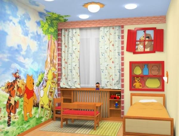 Детская комната – воплощение сказочной мечты!