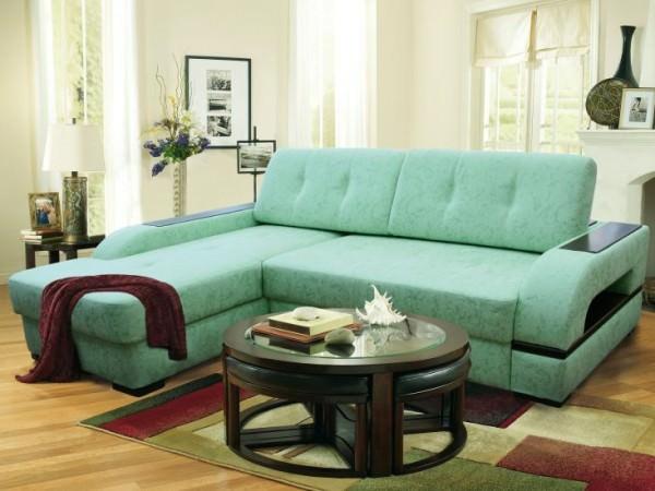 Цвет имеет значение – подбираем цвет дивана и кресел для гостиной
