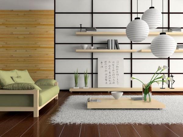 Интерьер в японском стиле - фото и советы