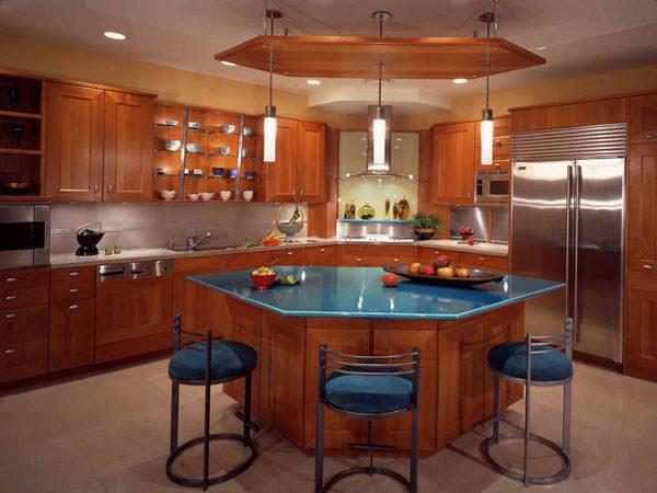 Фото интерьера кухни, невообразимый кухонный интерьер