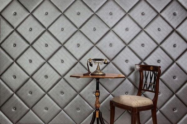Кожаная плитка в интерьере современного дома