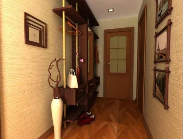 Дизайн интерьер прихожей и коридора в квартире