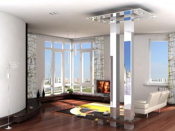 Интерьер квартиры студии - фото и советы