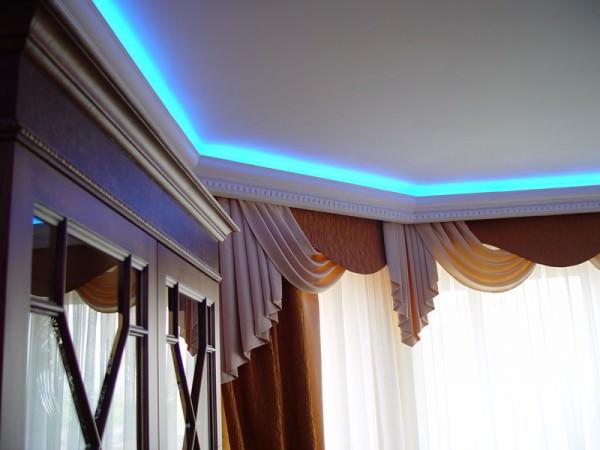 Светодиоды в интерьере – свет и стильное украшение