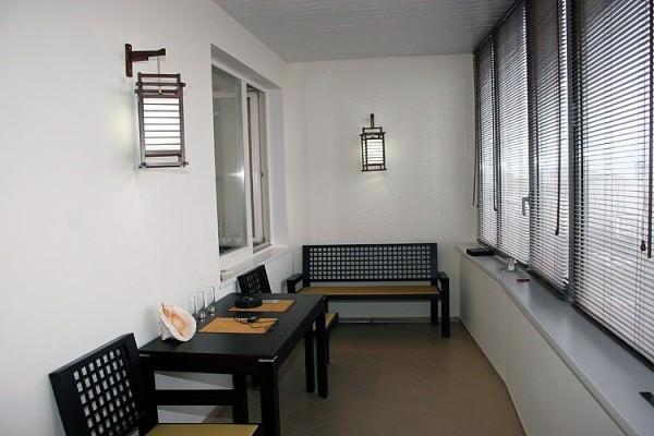 Интерьер балкона - фото и советы